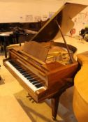 Blüthner (c1933) A 4ft 11in Model IV grand piano in a mahogany case on square tapered legs;
