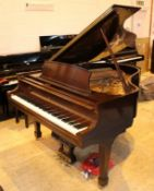 Steinway (c2004) A 5ft 7in New York Model M grand piano in an American mahogany satin lustre case