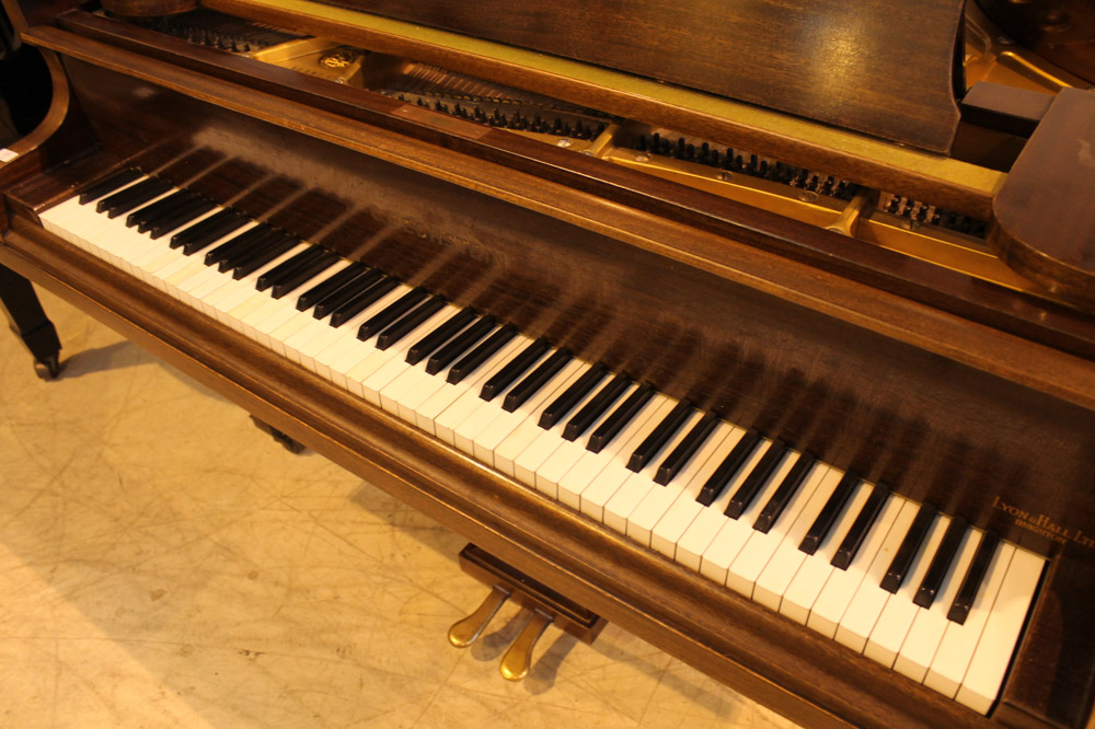 Bechstein (c1937) A 4ft 7in Model S grand piano in a mahogany case on square tapered legs - Image 3 of 4