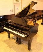 Yamaha (c2005) A 200cm Model DS4M4 PRO Disklavier grand piano in a bright ebonised case;