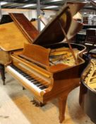 Steinway (c1928) A 6ft 2in 88-note Model A grand piano in a mahogany case on square tapered legs.