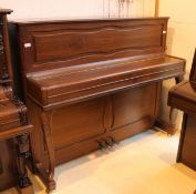 Hoffmann (c1985) A Model Barock/Chippendale upright piano in a mahogany case with cabriole