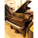 Steinway (c1894) A 7ft 5in 88-note Model C grand piano in a rosewood case on turned legs.