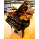 Steinway (c1988) LATE ENTRY A 6ft 11in Model B grand piano in a bright ebonised case on square