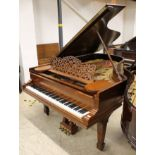 Steinway (c1900) A 6ft 11in 88-note Model B grand piano in a rosewood case on square tapered legs.