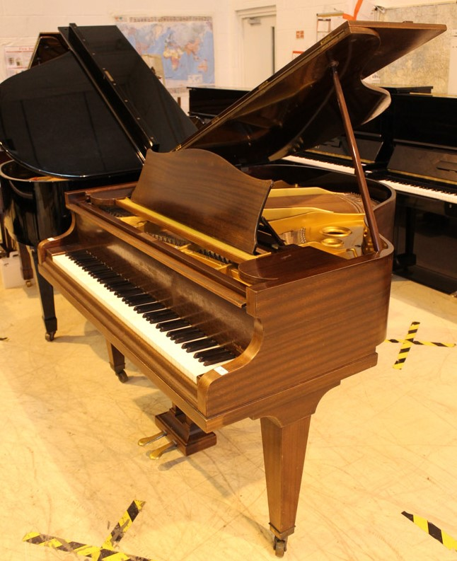 Bechstein (c1937) A 4ft 7in Model S grand piano in a mahogany case on square tapered legs