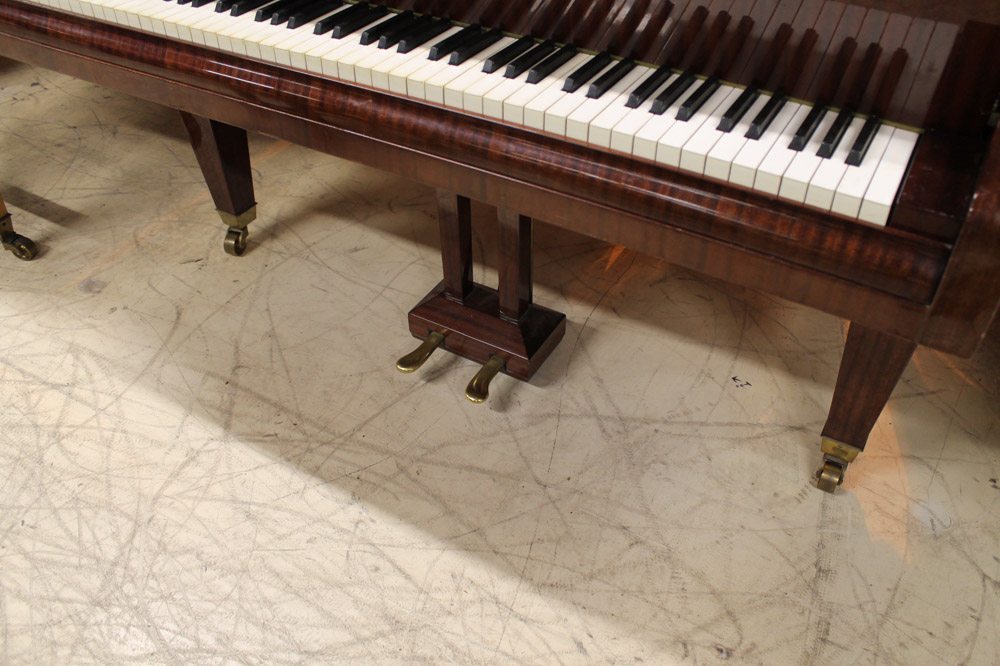 Bosendorfer (c1971) A 6ft 7in grand piano in a bright mahogany case; together with a stool. - Image 4 of 5