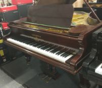 Bechstein (c1900's) A 6ft 7in 88-note grand piano in a rosewood case.