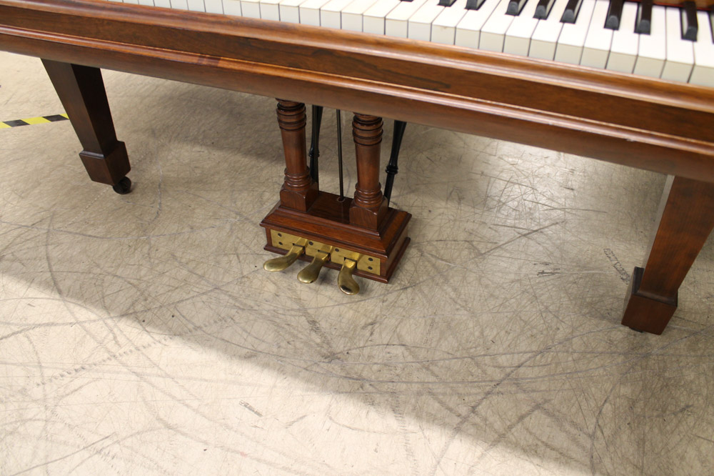 Steinway (c1900) A 6ft 11in 88-note Model B grand piano in a rosewood case on square tapered legs. - Image 4 of 6