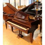 Bechstein (c1938) A 4ft 7in Model S grand piano in a mahogany case on square tapered legs;