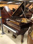Steinway (c1896) A 6ft 85-note,