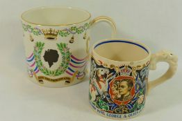 A Dame Laura Knight mug commemorating the coronation of King George VI and Queen Elizabeth,