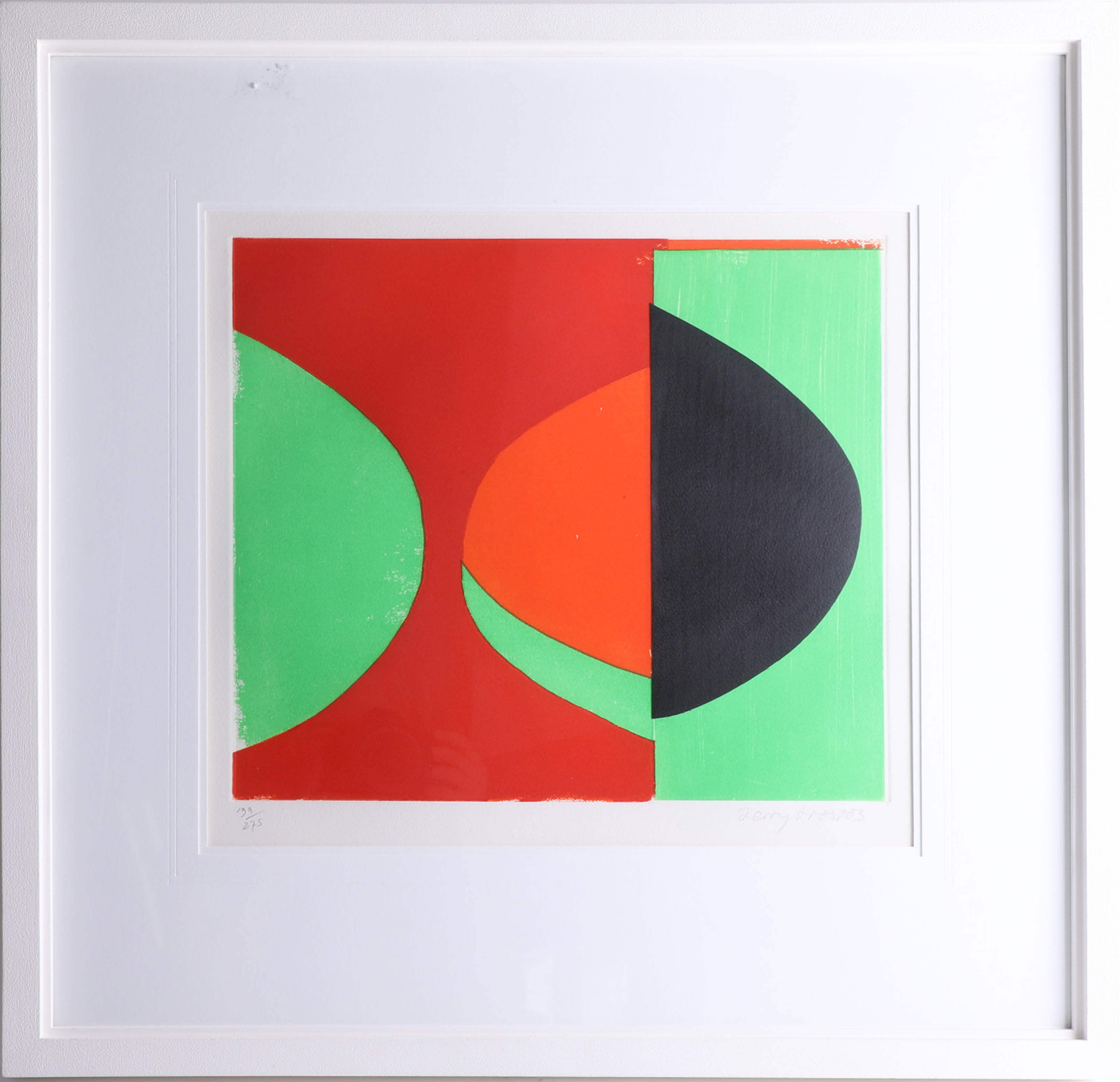 Lot 023 - Sir Terry Frost R.A. (British, 1915-2003), original print 'Camberwell Green' 2001-2003, numbered