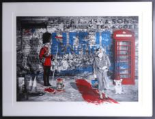 Mr Brainwash, signed edition print, Jubilee, London 'Life is Beautiful', No. 51/150, 56cm x 76cm,