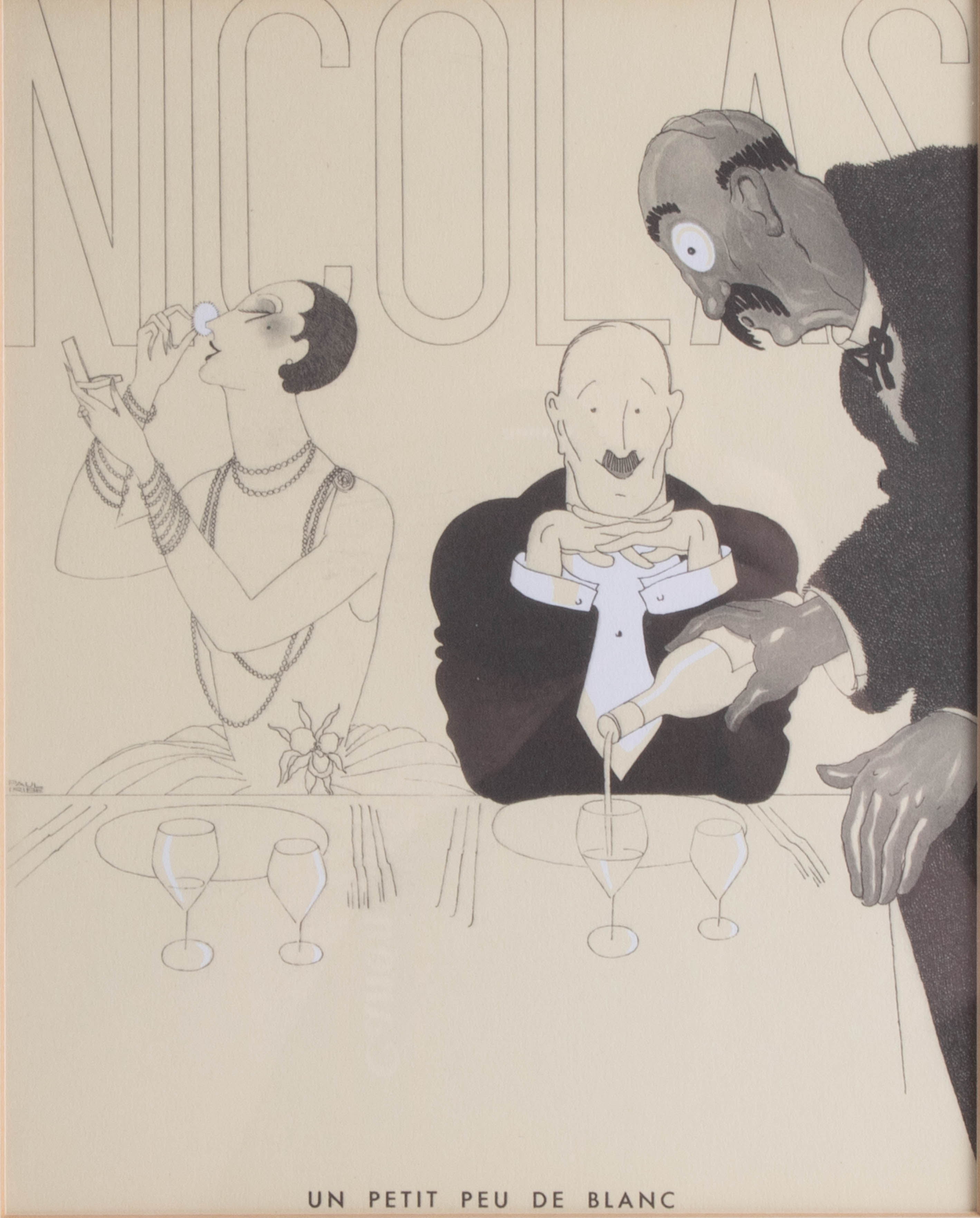 Lot 046 - Paul Uribe (1883 - 1935), eight lithographs from the original etchings 1930's editions Nicolas.