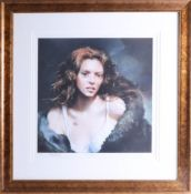 Robert Lenkiewicz (1941-2002) Print, 'Faraday', Signed by Faraday with embossed artist signature,