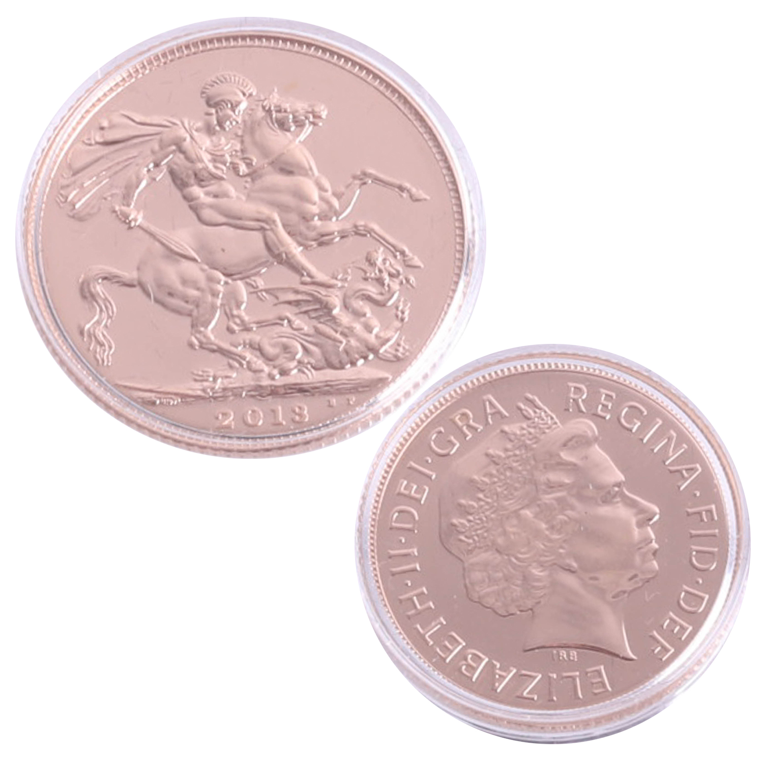 Lot 025 - Royal Mint, Queen's Coronation 60th Anniversary celebration gold sovereign struck 2nd June 2013,