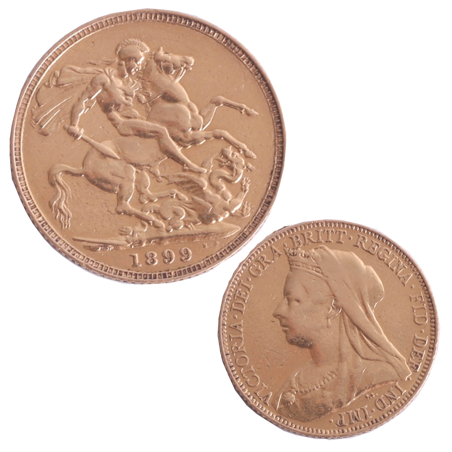Lot 011 - Victoria 1899 gold sovereign.