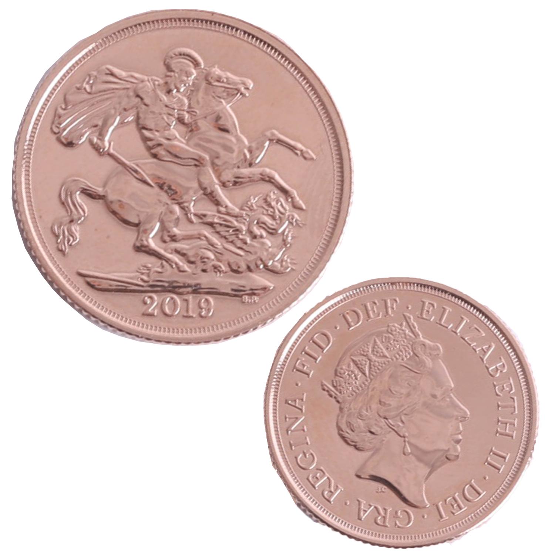 Lot 027 - Queen Elizabeth II 2019 gold sovereign (proof like).