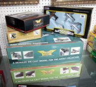The Aviation Archive, diecast Corgi models, RAF Coastal Command and WWII plane, also three other