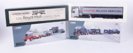 Days Gone, Limited Edition Royal Mail Collections set, Corgi Classics, two heavy Haulage sets and