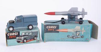 Corgi Toys, Land Rover RAF 351, Thunderbird Guided Missile 350 (2).