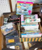 A collection of Corgi Classics, also Micro Machines and Brumm models, also TSP Japanese models (