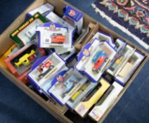 A collection of mainly Oxford diecast boxed models, also Corgi Eddie Stobart, Mini Champs etc. (
