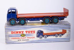 Dinky Toys, Foden Flat Truck with Tailboard 903, boxed.