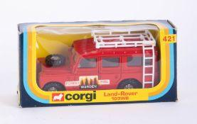 Corgi Land Rover Forest Fire 421, Corgi Pony Club 47, boxed (2).