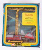 Corgi Major, Skyscraper Tower Crane 1155, boxed.