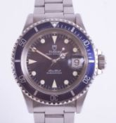 Rolex Tudor, a 1989/1990 gents Oyster Prince Submariner 200 wristwatch, Model 79090, No. 266186,