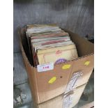 VINYL 45RPMS - LARGE COLLECTION, MAINLY 60S, APPROXIMATELY 100 INCLUDING BILLY FURY, DANNY AND