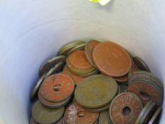 MAJULI TEA COMPANY TOKENS AND A SMALL QUANTITY OF BRITISH AND WORLD COINS