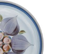 Denby Chatsworth patterned dinner ware items to include: 12 cereal bowls, 10 dinner plates,