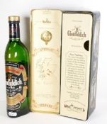 Glenfiddich pure malt special reserve Scotch Whisky: A bottle of Special Old Reserve in decorative