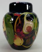 Moorcroft Queens Choice ginger jar: Designed by Emma Bossons,