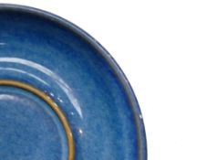 Denby Chatsworth patterned breakfast items to include: 8 cereal bowls, tea pot, 6 tea cups,