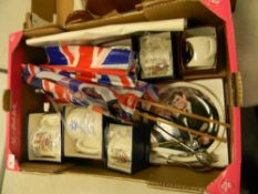 a collection of Adams and Woods & son commemorative ware: to include mugs, plates, tankards etc