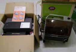 Hanimex Le Ronde 35mm Slide Projector: together with Boots Autozoom 850 super 8 movie projector(2)
