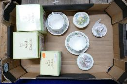 A collection of Royal doulton Brambley Hedge to include: The Engagement cup and saucer ( boxed),
