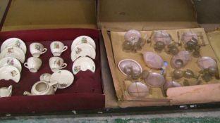 Codeg nursery dinner set: together with a china childs tea set (2)