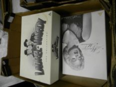 Boxed Laurel & Hardy DVD set: together with Marilyn Monroe boxed DVD set