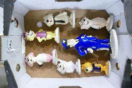Beswick figures from Top Cat Collection: Beswick Top Cat Figures to include Officer Dibble with