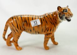 Beswick model of a large tiger: