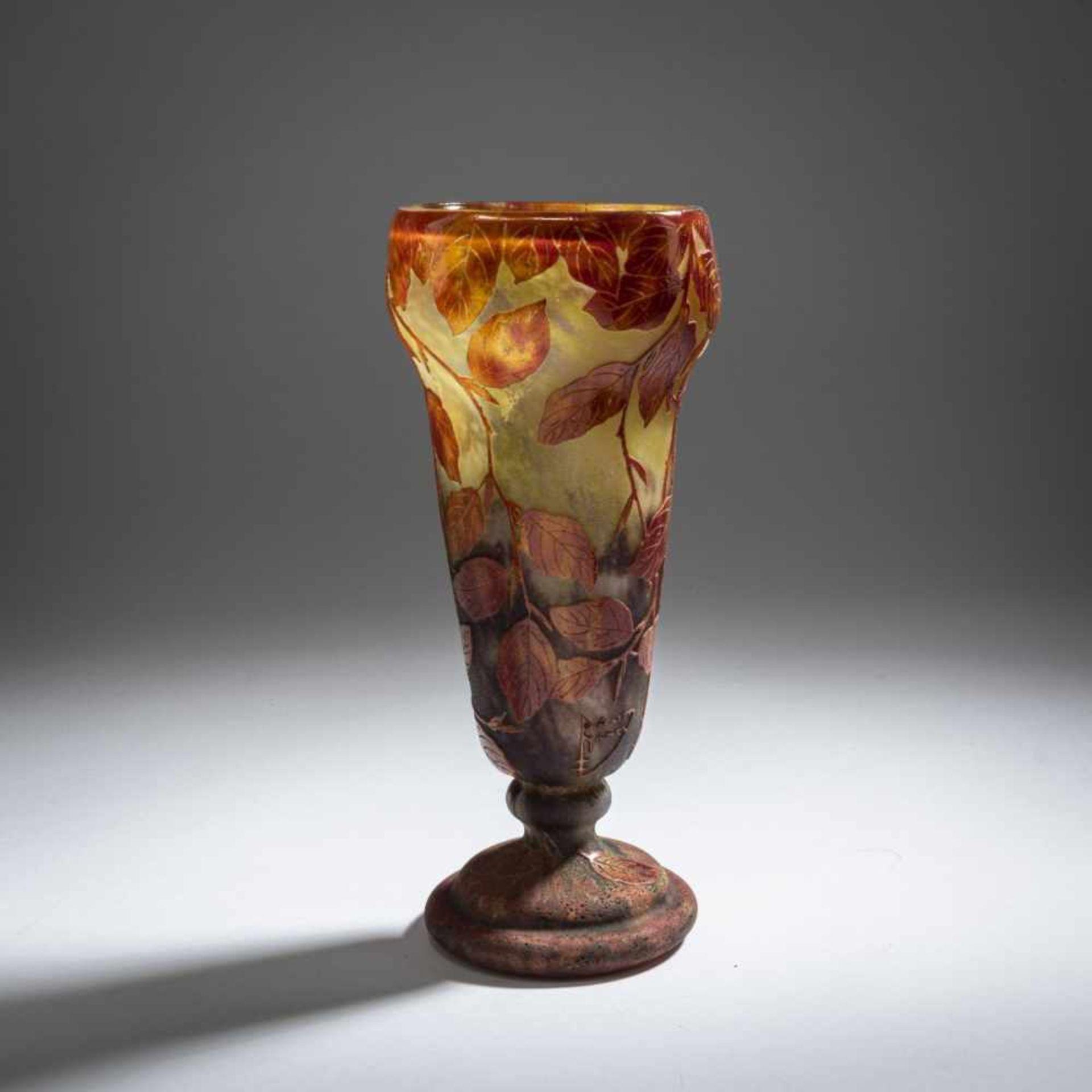 Daum Frères, Nancy , Vase 'Hêtre roux', 1910 - Bild 3 aus 7
