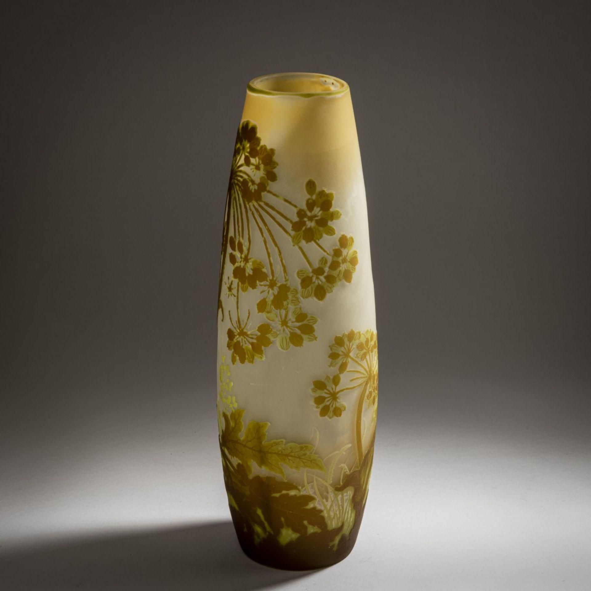 Emile Gallé, Nancy, Vase 'Ombelles', 1902-04 - Bild 3 aus 4