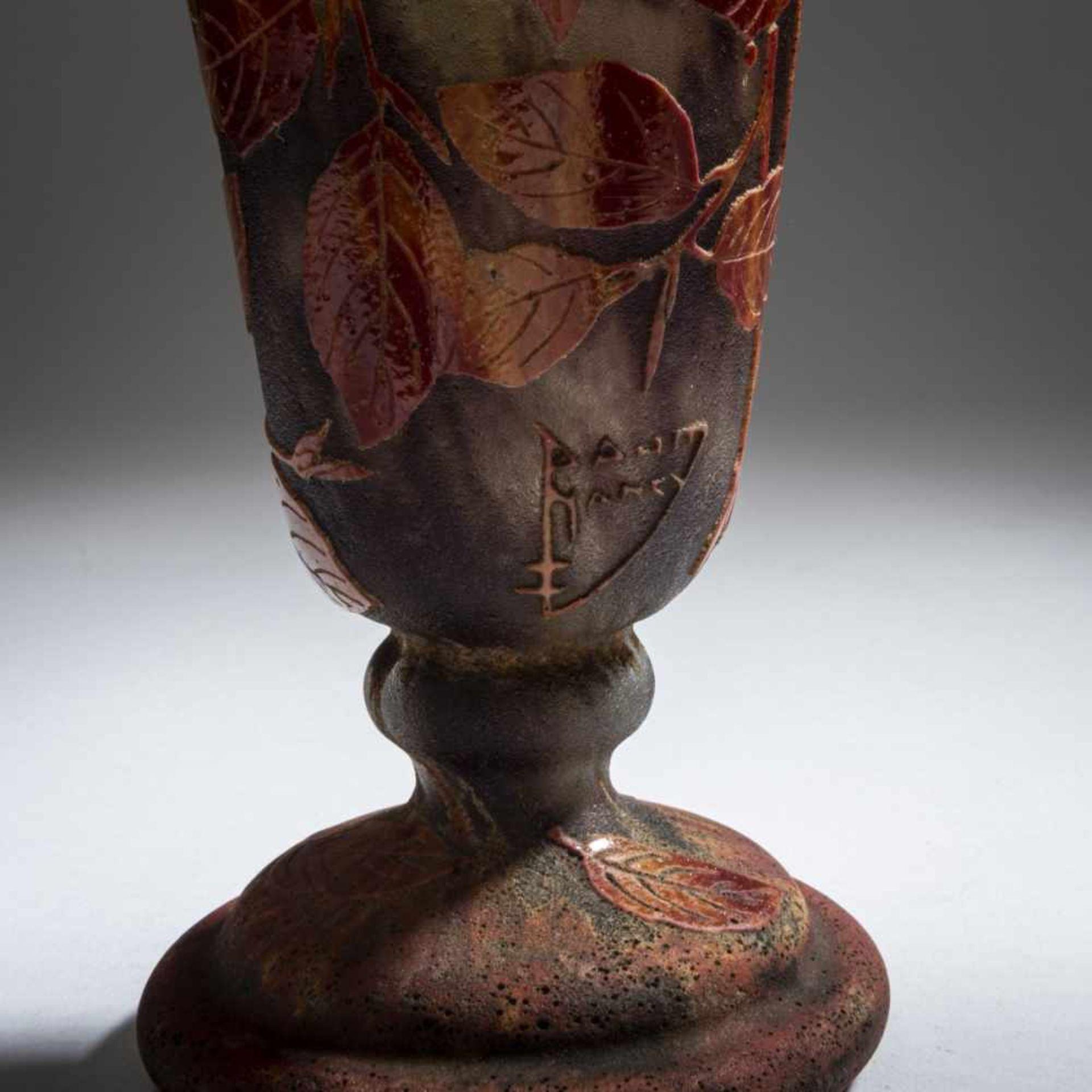Daum Frères, Nancy , Vase 'Hêtre roux', 1910 - Bild 4 aus 7