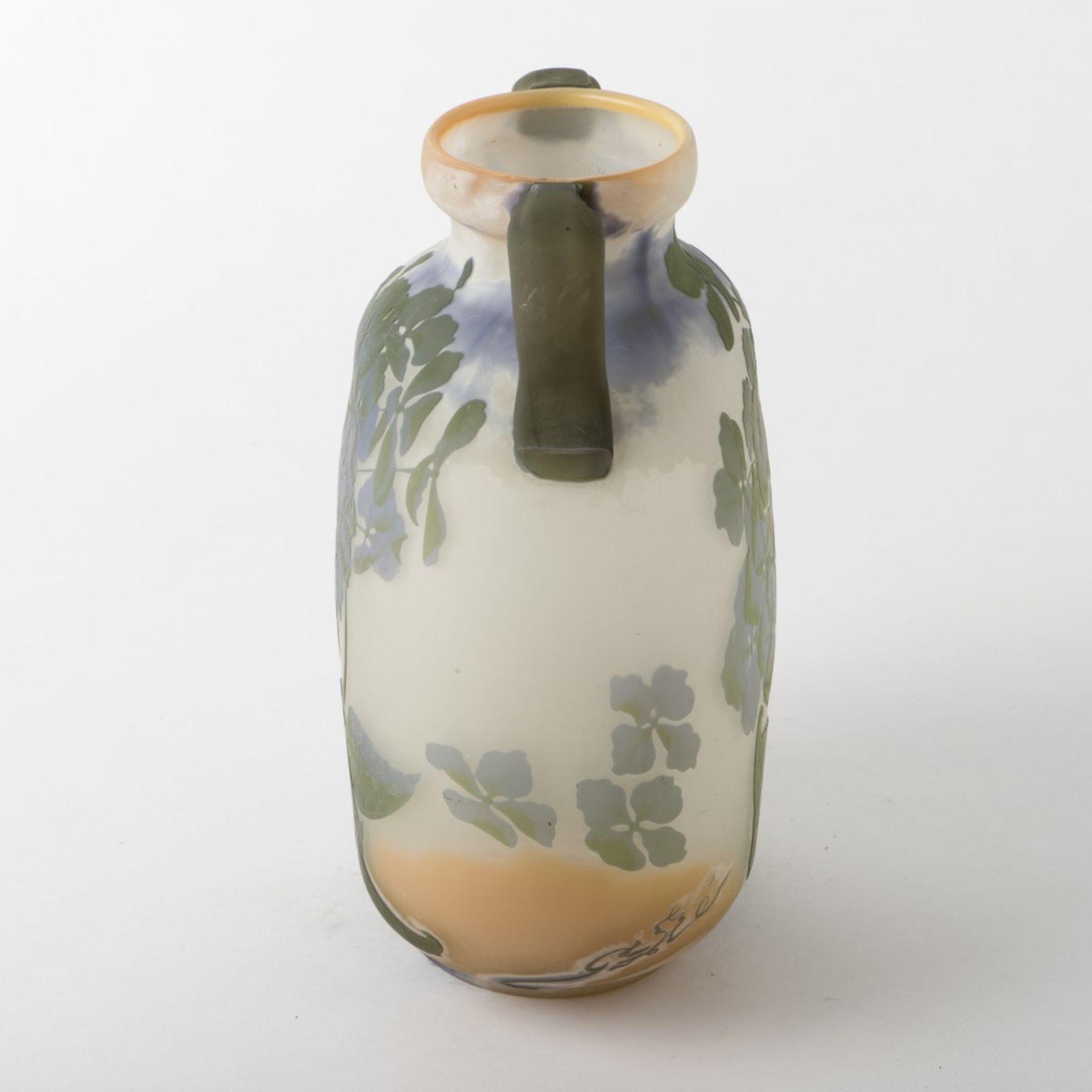 Emile Gallé, Nancy, 'Hortensias' vase, 1903/04 - Bild 3 aus 7