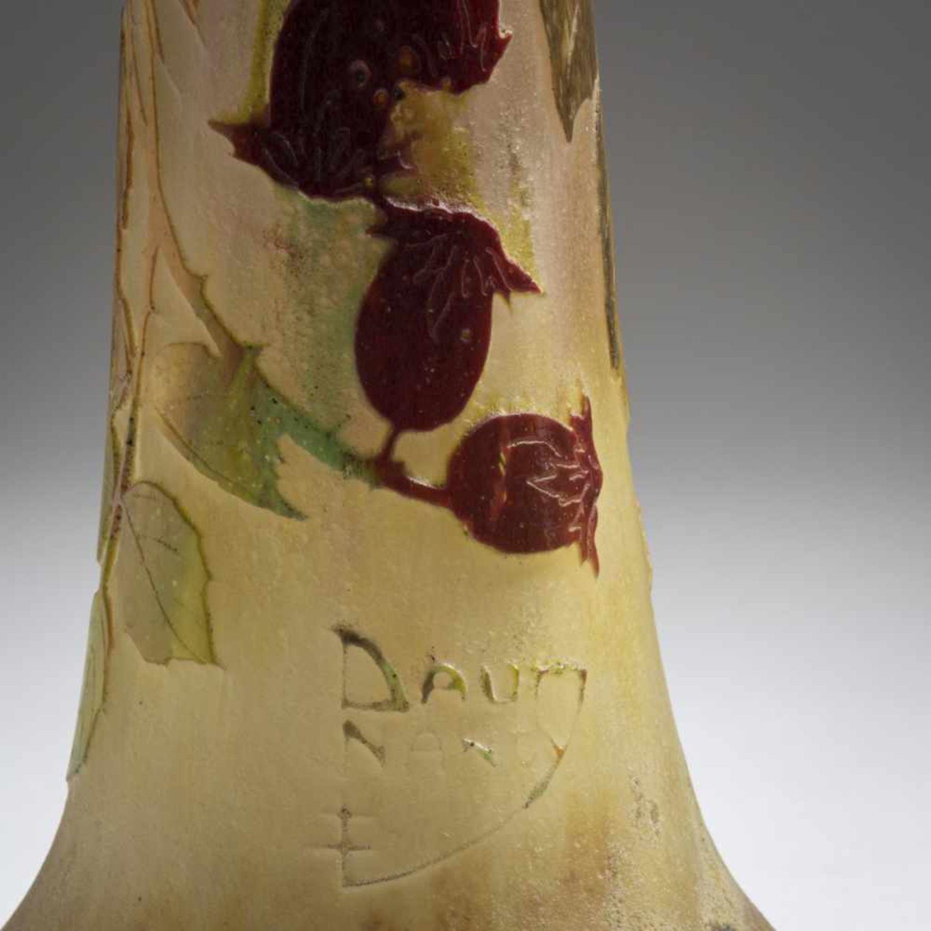 Daum Frères, Nancy, 'Les fruits rouges de l'Eglantier' vase, 1913 - Bild 3 aus 4
